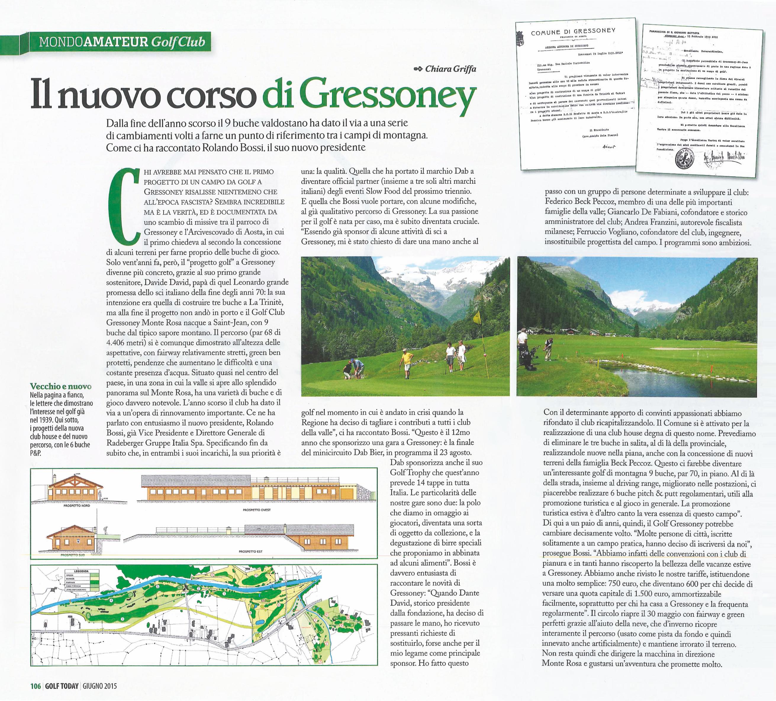 Il nuovo corso di Gressoney